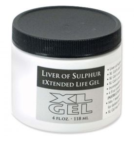 Patina XL Gel Liver of Sulphur 118ml