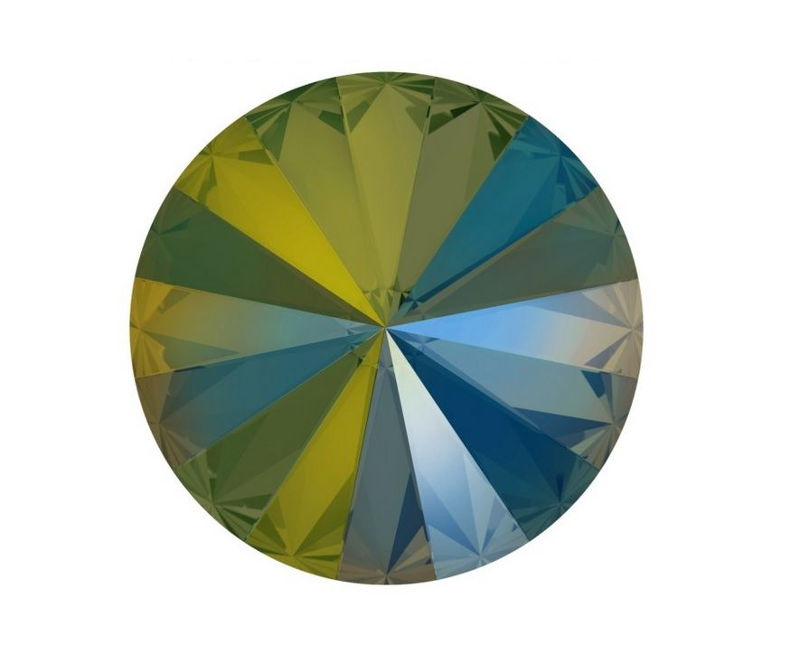 Swarovski® Iredescent green 12 mm